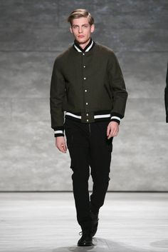 A look from the fall 2015 Todd Snyder show. (Photo: Nowfashion)