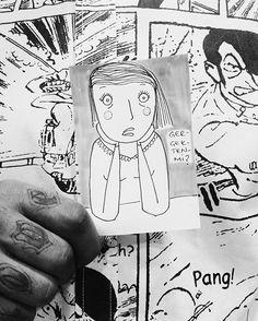 Gıybet time! Yaşasın öğle yemekleri 😄😄😄 #drawing #comics #illustration #artjournal #gossip