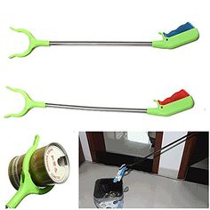 dipshop Junk Pick Up Tools Gadget Rubbish Picker Floor Claw Easy Grip