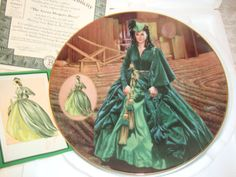 Decorative Plate Gone With the Wind 'The by WintervilleWonders, $24.00
