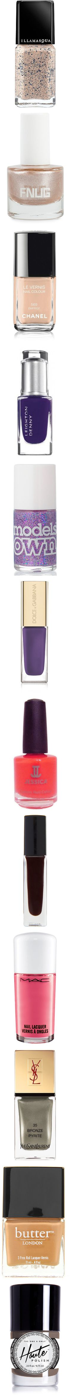 """""""The 12 Prettiest New Nail Polishes This Week"""" by polyvore-editorial ❤ liked on Polyvore"""