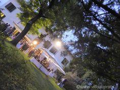 Villa da Prato, location per matrimoni - Buffet serale
