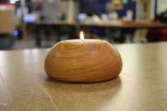 Tea Light Candle Holder on a Wood Lathe http://www.instructables.com/id/Tea-Light-Candle-Holder-on-a-Wood-Lathe/ -RM