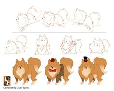 Mr Fluff Character Sheet - Adorable!