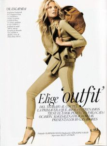 [In the Press] GIVENCHY Spring Summer 2012 in Vogue Spain March 2012…