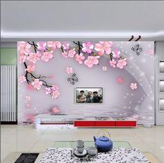 custom DIY unique home Decor artistic art mural Deco wall paper 12FT x 8FT WF266