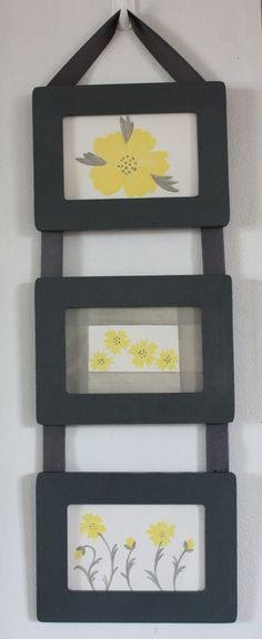 Ribbon Hanging Picture Frames