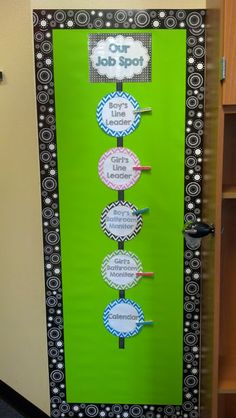 My Room is Done {Classroom Pictures} - Fun in First Grade Classroom Job Chart, Classroom Procedures, Classroom Jobs, First Grade Classroom, Classroom Setup, Kindergarten Classroom, Future Classroom, Classroom Management, Classroom Attendance