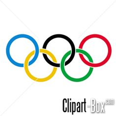 CLIPART OLYMPIC RINGS