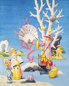 If you love all things Chinoiserie and Palm Beach Chic, you will most certainly love the work of Harrison Howard . His delightful images wil...