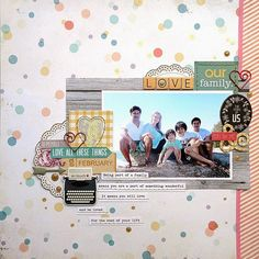 a place in my dreams: playing with Polly! scrap kits...