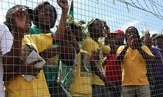 The police arrested a man who allegedly fired a shot during a protest against the DA's visit to Nkandla.