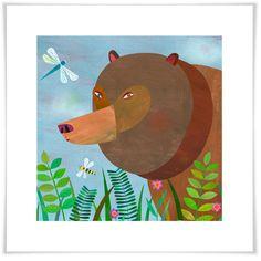 Forest Adventure - Bear, Woodland Art Prints   Oopsy Daisy