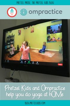 Do kids yoga at home and online with Pretzel Kids Yoga and Ompractice! Yoga Teacher Certification, Fitness Certification, Fitness Activities, Educational Activities, Activities For Kids, Yoga For Kids, Exercise For Kids, Teaching Kids, Kids Learning