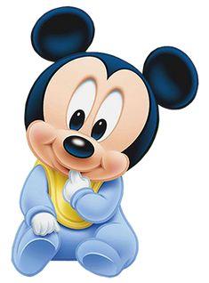 Imagenes y elementos Minnie Baby & Mickey Baby Baby Mickey Mouse Cake, Festa Mickey Baby, Theme Mickey, Mickey Birthday, Baby Mouse, Minnie Mouse, Mickey Mouse Kunst, Mickey Mouse Drawings, Mickey Mouse Wallpaper