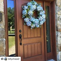 How many ways can you style a Therma-Tru entry? So many ways! Browse our inspiration photo gallery for great ideas. Exterior Doors, Entry Doors, Front Entry, Front Doors, Coastal Living, Old World, Curb Appeal, Compliments, Home Improvement