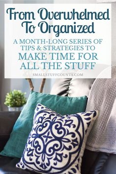 A month-long blog series packed with time management tips, strategies, and motivation. Learn to be more productive and intentional with your time. Lots of goodness in these blog posts!