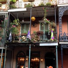 New Orleans French Quarters residence