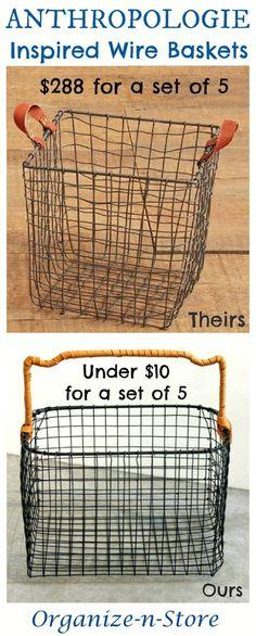 How to Make a Chicken Wire Basket   Pinterest   Chicken wire, Wire ...