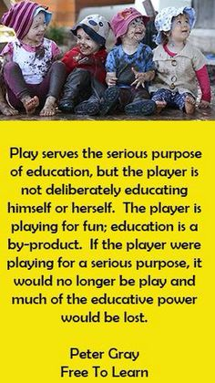 The educative power of play in the classroom