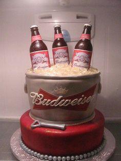 Budweiser Cake Pops