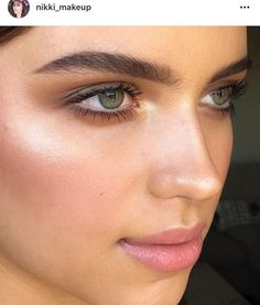 Love the soft Smokey eye and fresh, glowing skin