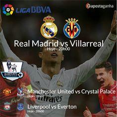 Confere os prognósticos para a Liga Inglesa e Espanhola...   http://www.apostaganha.com/2016/04/20/progostico-apostas-real-madrid-vs-villarreal-liga-bbva-1/  http://www.apostaganha.com/2016/04/20/prognostico-apostas-manchester-united-vs-crystal-palace-premier-league-9-444/  http://www.apostaganha.com/2016/04/20/prognostico-apostas-manchester-united-vs-crystal-palace-premier-league-9-222/  http://www.apostaganha.com/2016/04/20/prognostico-apostas-liverpool-vs-everton-premier-league-7-2323…