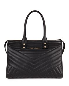 ASTUUN - Quilted leather bag
