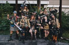 Dragonfly Armory Dieselpunk Costumers Pre Dragon Con Shoot!  Anne Almasy, Photographer