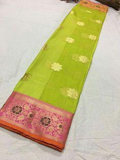 Pure banaras kota silk sarees Price:3650 Order what's app 7995736811