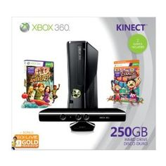 Xbox 360 250GB Holiday Value Bundle with Kinect --- http://www.pinterest.com.mnn.co/6z3