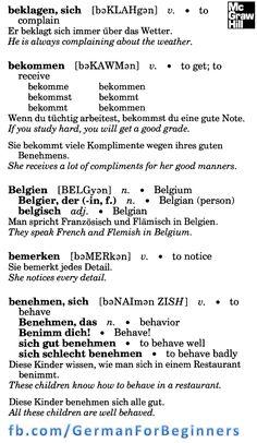 German For Beginners: 21