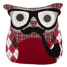http://www.sassandbelle.co.uk/Ronald Owl Cushion