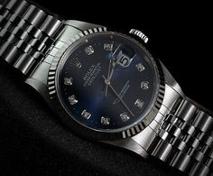 Rolex Datejust 36mm 116234 blue dial Roulette Date 'D'  (PREOWNED)  WE ARE BASED AT JAKARTA please contact us for any inquiry : whatsapp : +6285723925777 blackberry pin : 2bf5e6b9  #ROLEX