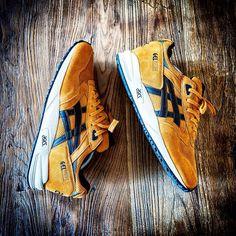 "Asics Gel Saga ""Curry"" || Follow @filetlondon for more street wear style #filetclothing"
