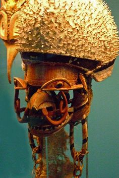 masks of new ireland | Dance Masks of New Ireland in the South Pacific (3) | Flickr - Photo ...