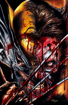 Battle Damaged Wolverine by Twynsunz.deviantart.com on @deviantART