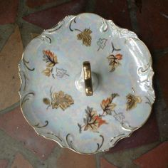 Vintage Trimont Ware Lusterware Autumn Leaf by TheRiCharmedLife, $12.00