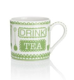 Text Tea Mug - Marks & Spencer