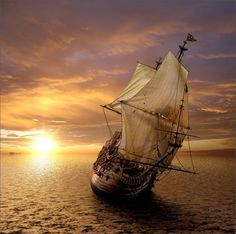 Sail Away, Tall ship