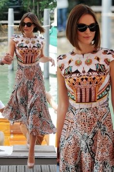 Love this dress. Keira Knightly wearing Mary Katranzou