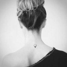 antler tattoo - Google Search
