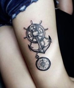 Unique Anchor Tattoo Ideas — Best Tattoos for 2018 Ideas & Designs for You