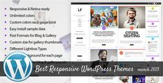 Best Responsive WordPress Themes of March 2013