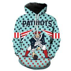 cf1f4eb5c  SUPER BOWL  New England Patriots Football Team Print Hoodie. Football  FashionHoodyHoodie JacketPulloverPatriots ...
