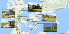 Op zoek naar een mooie rondreis Denemarken langs vakantiewoningen? We maakten 2 routes. Een rondreis van 3 weken en een van 2 weken. Incl tips!