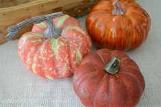 Creating DIY Pumpkins With a Realistic Looking Stem
