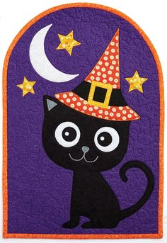 Black Cat arch quilt pattern by Patrick Lose   Fons and Porter