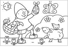 Decent Kleurplaat Pasen that you must know, You're in good company if you're looking for Kleurplaat Pasen Easter Coloring Pages, Colouring Pages, Art For Kids, Crafts For Kids, Diy Crafts, Spring Theme, Welcome Spring, Easter Crafts, Happy Easter
