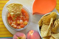 The Dutch Oven Diaries: Petah's Pineapple Peach Salsa